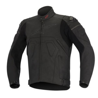 ALPINESTARS CORE LEATHER JACKET - BLACK
