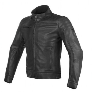 DAINESE BRYAN LEATHER JACKET - BLACK