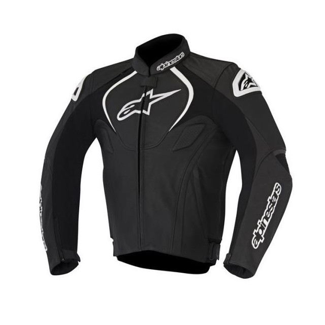ALPINESTARS JAWS LEATHER JACKET - BLACK