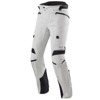 REV'IT POSEIDON 2 GTX SHORT TROUSERS - SILVER-BLACK