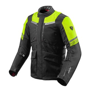 REV'IT NEPTUNE 2 GTX JACKET - BLACK-NEON YELLOW