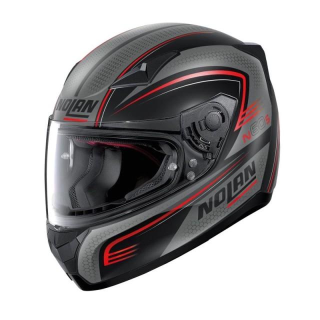 NOLAN N60.5 RAPID HELMET - FLAT BLACK