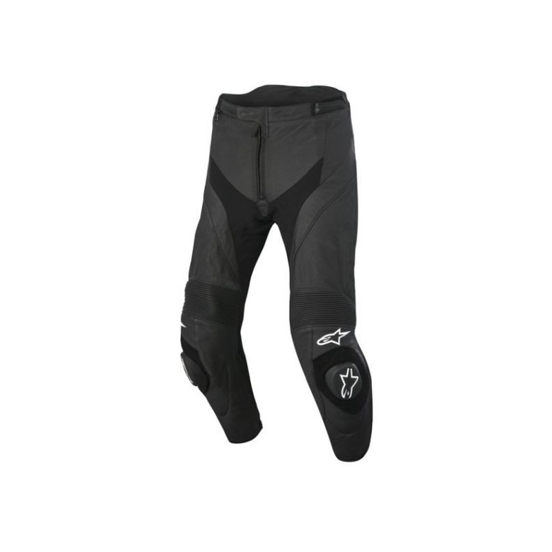 PANTALONI ALPINESTARS MISSILE AIRFLOW LEATHER PANTS - NERO