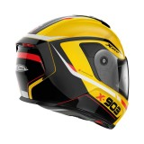 X-LITE X-903 ULTRA CARBON CAVALCADE SPARK YELLOW - BACK