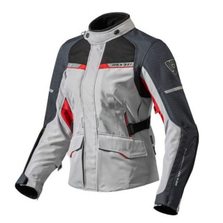 REV'IT JACKET OUTBACK 2 LADIES - SILVER RED