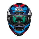 X-LITE X-803 ULTRA CARBON MASTERY BLUE - FRONT