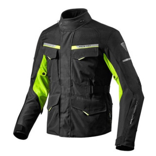 REV'IT GIACCA OUTBACK 2 - BLACK NEON YELLOW
