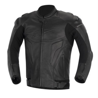 GIACCA ALPIENSTARS PHANTOM LEATHER JACKET