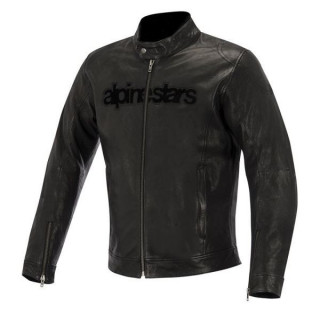 GIACCA ALPINESTARS HUNTSMAN LEATHER JACKET