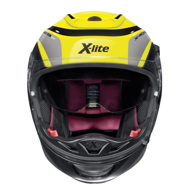 X-LITE X-403 MERIDIAN HI-VISIBILITY N-COM FLUO - FRONT