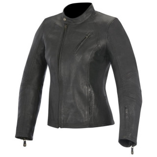 ALPINESTARS SHELLEY WOMEN'S LEATHER JACKET - RETRO