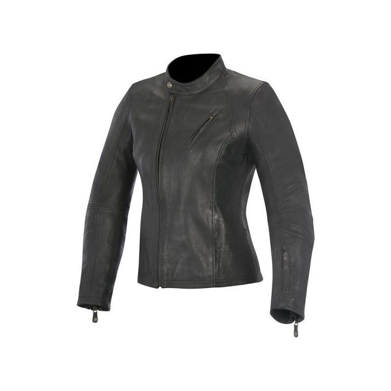 GIACCA ALPINESTARS SHELLEY WOMEN'S LEATHER JACKET - FRONTE