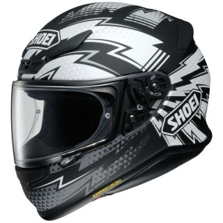SHOEI NXR VARIABLE - WHITE RED