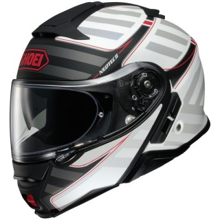 SHOEI NEOTEC 2 EXCURSION -BLACK RED
