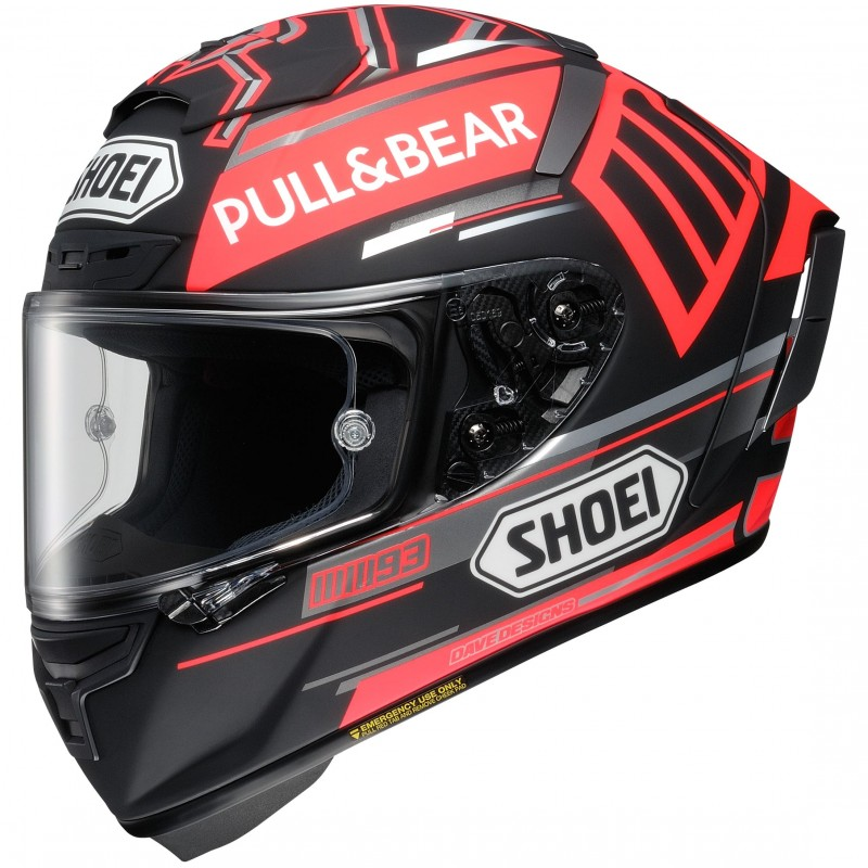 SHOEI X-SPIRIT 3 REPLICA MARQUEZ CONCEPT