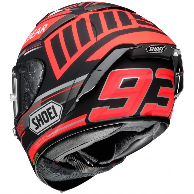 SHOEI X-SPIRIT 3 REPLICA MARQUEZ CONCEPT - BACK