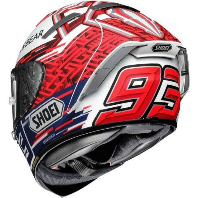 SHOEI X-SPIRIT 3 REPLICA MARQUEZ5 - BACK
