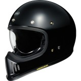 SHOEI EX-ZERO PLAIN - BLACK