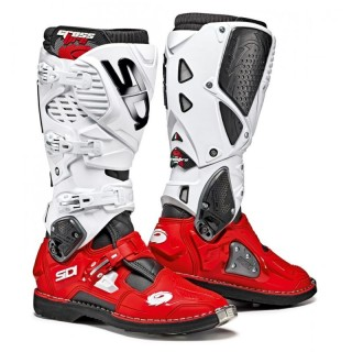 SIDI CROSSFIRE 3 - WHITE RED