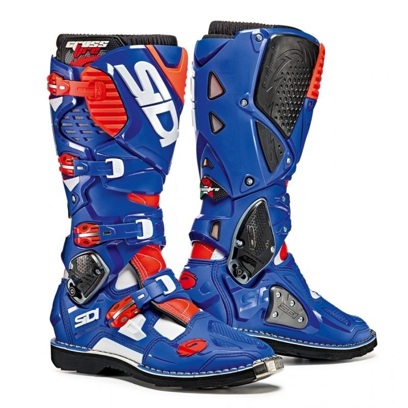 SIDI CROSSFIRE 3 - BLUE FLUO RED