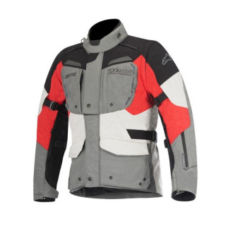 ALPINESTARS DURBAN GORE-TEX JACKET - GREY BLACK RED