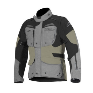 ALPINESTARS DURBAN GORE-TEX JACKET - GREY BLACK SAND