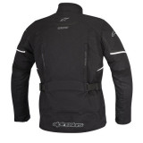 ALPINESTARS ARES GORE-TEX JACKET BLACK - BACK