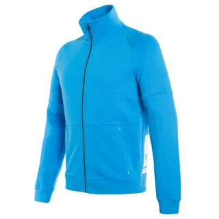 FELPA DAINESE FULL-ZIP SWEATSHIRT - Performance Blue