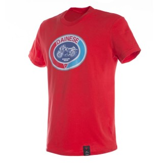 MAGLIA DAINESE MOTO 72 T-SHIRT - Red