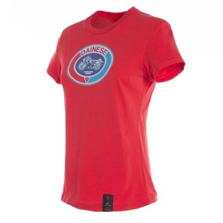 DAINESE MOTO 72 LADY T-SHIRT - RED