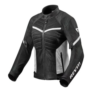 REV'IT ARC AIR LADIES JACKET - Black-White