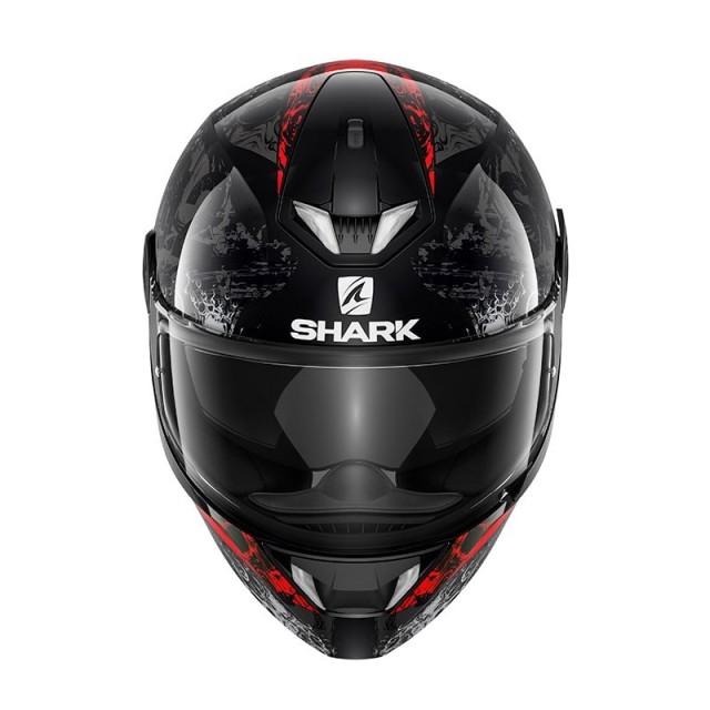SHARK SKWAL 2 NUK'HEM BLACK RED - FRONT