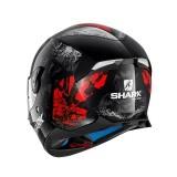 SHARK SKWAL 2 NUK'HEM BLACK RED - BACK