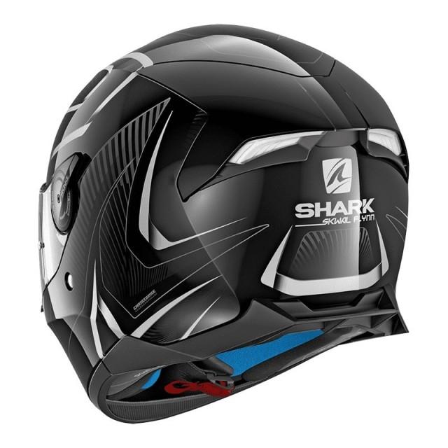 SHARK SKWAL 2 FLYNN WHITE - BACK