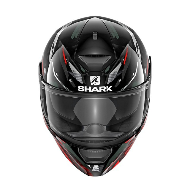 SHARK D-SKWAL KANHJI RED - FRONT