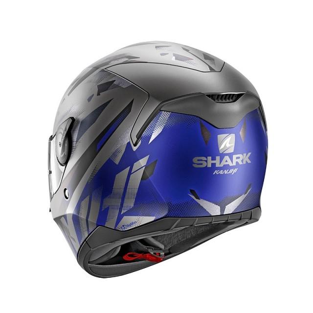 SHARK D-SKWAL KANHJI MAT BLUE - BACK