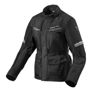 REV'IT OUTBACK 3 LADIES JACKET - Black-Silver