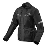 GIACCA REV'IT OUTBACK 3 DONNA - Black-Silver
