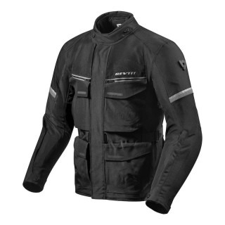 REV'IT OUTBACK 3 JACKET - Black-Silver
