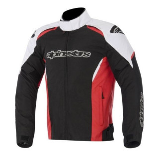 ALPINESTARS GUNNER WATERPROOF JACKET - BLACK WHITE RED