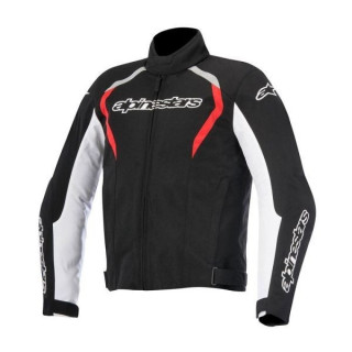 ALPINESTARS FASTBACK WATERPROOF JACKET - BLACK WHITE RED