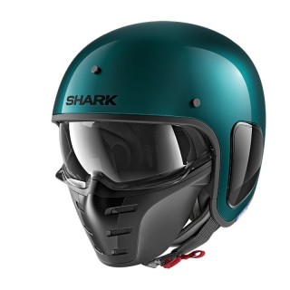 SHARK S-DRAK GREEN METAL