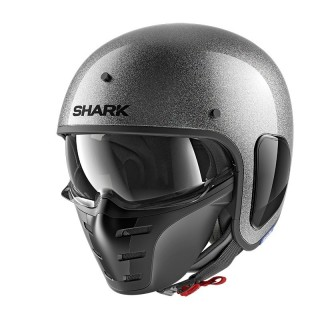 SHARK S-DRAK GLITTER - GRAY