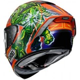 SHOEI X-SPIRIT 3 POWER RUSH - BACK
