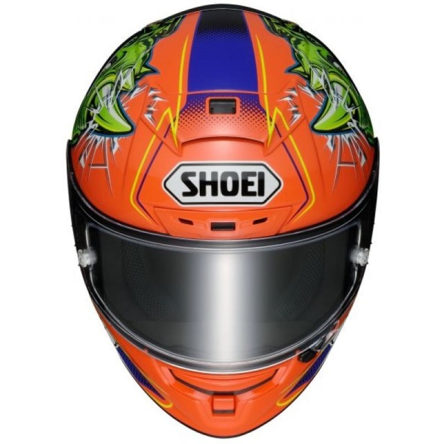 SHOEI X-SPIRIT 3 POWER RUSH - FRONT