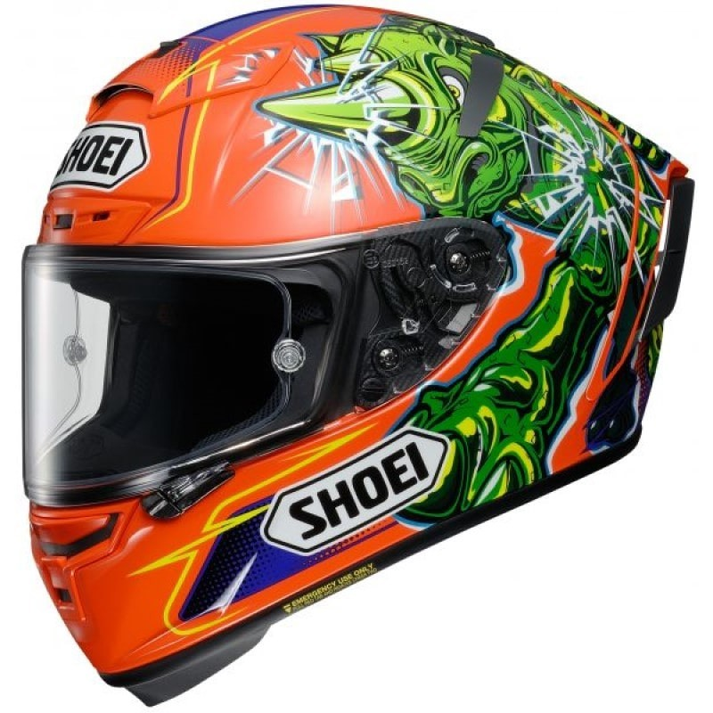 SHOEI X-SPIRIT 3 POWER RUSH