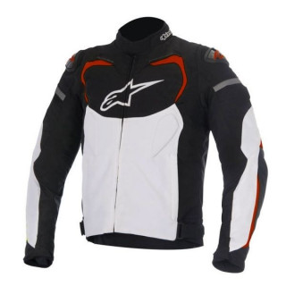 ALPINESTARS T-GP PRO TEXILE JACKET - BLACK WHITE RED