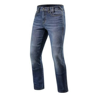 REV'IT BRENTWOOD SF LONG JEANS - Light Blue Used