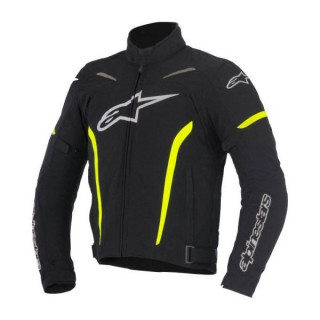 ALPINESTARS ROX TEXILE JACKET - BLACK YELLOW FLUO