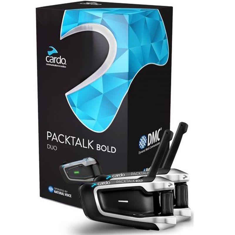 CARDO SCALA RIDER PACKTALK BOLD DUO - PACKAGING